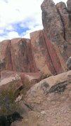Rock Climbing Photo: Good cracks