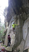 Rock Climbing Photo: The start of 5 Deadly Venoms