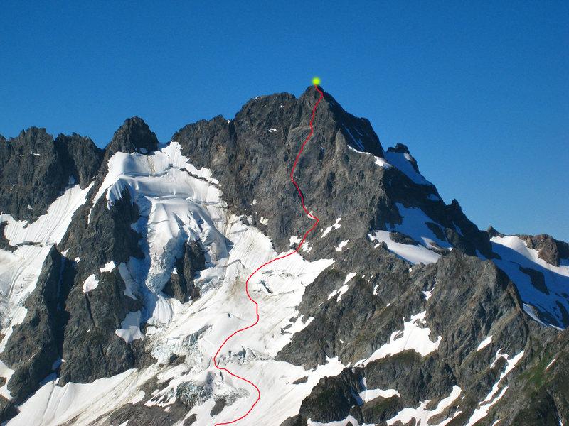 Rock Climbing Photo: photo/overlay by Matt Lemke
