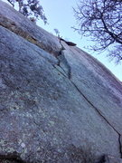 Rock Climbing Photo: No Sweat.