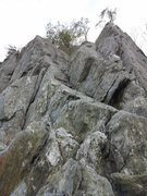 Rock Climbing Photo: scramble in places or eliminate holds to make it m...