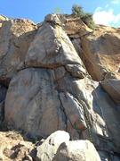Rock Climbing Photo: Left side of arete