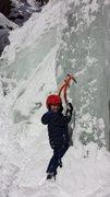 Rock Climbing Photo: kids and ice