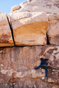 Rock Climbing Photo: Working my way up the face. Photo Credit - Stephen...