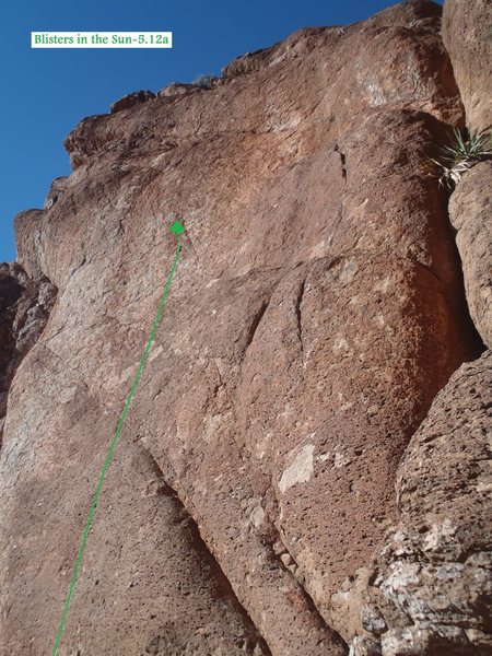 Rock Climbing Photo: Blisters in the Sun (January 2014)