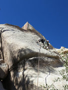 Rock Climbing Photo: Kazu making his way up the first section of Lubric...