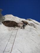 Rock Climbing Photo: Kazu on Fool's Cold