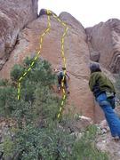 Rock Climbing Photo: Loc Tite & Endomorph Man