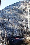 Rock Climbing Photo: South East Face Topo