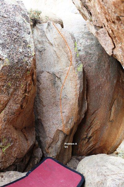 Rock Climbing Photo: North Wall Topo