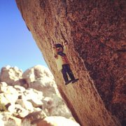 Rock Climbing Photo: saw this free soloist out at echo rocks today. so ...