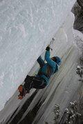 Rock Climbing Photo: Michigan Ice Fest 2014.