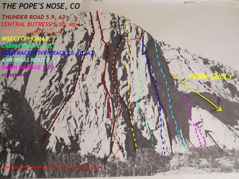 Rock Climbing Photo: Updated image from Southwest Rock by David Kozak, ...