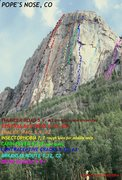 Rock Climbing Photo: Best estimates.