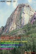 Rock Climbing Photo: Best estimates.