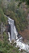 Rock Climbing Photo: The highest falls in the Adirondacks.