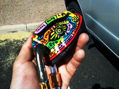 Rock Climbing Photo: painted grigri 2