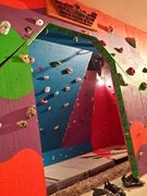 Rock Climbing Photo: Entryway with a glimpse of the 45° and 70° walls...