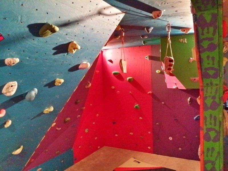Rock Climbing Photo: Another glimpse into the gym.