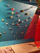Rock Climbing Photo: 45° wall.