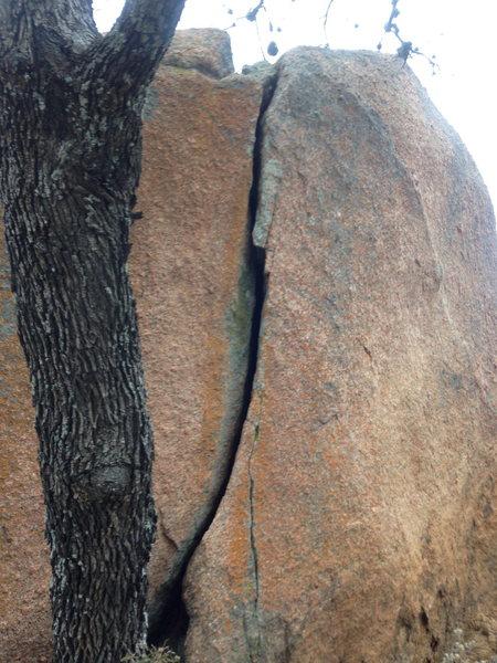 Rock Climbing Photo: Touch & Go