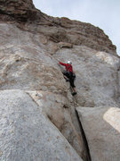 Rock Climbing Photo: Slightly different view of start.