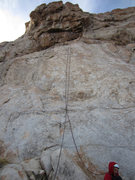 Rock Climbing Photo: Start/slab section