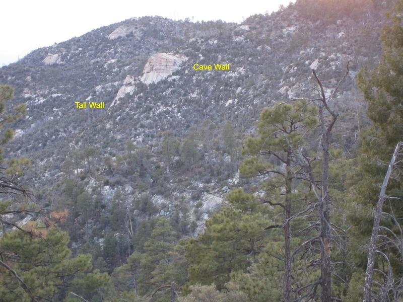the Outcroppings.  Once you identify em, you can see them from everywhere.