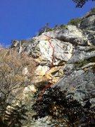 Rock Climbing Photo: Fly Ball