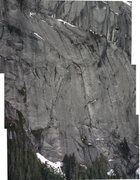 Rock Climbing Photo: Photo up to top of Pitch 6.