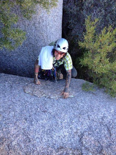 Rock Climbing Photo: morrells wall