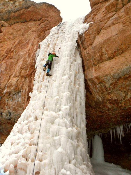 Camp Creek Falls 2-7-14 Zion National Park