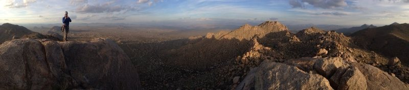 Pano from the top of the Thumb