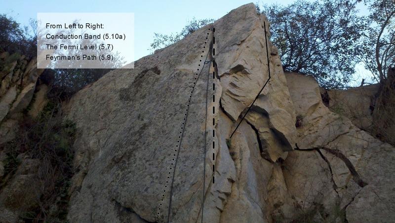 Rock Climbing Photo: Feynman's Path