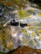 Rock Climbing Photo: The what not to do beta.