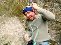 Rock Climbing Photo: The look you make after climbing 7 fathom arete.