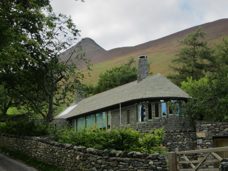 Front of House . Newlands Valley . Lake District