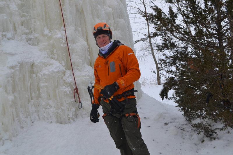 Rock Climbing Photo: George