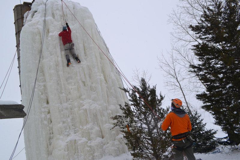 Rock Climbing Photo: Silo