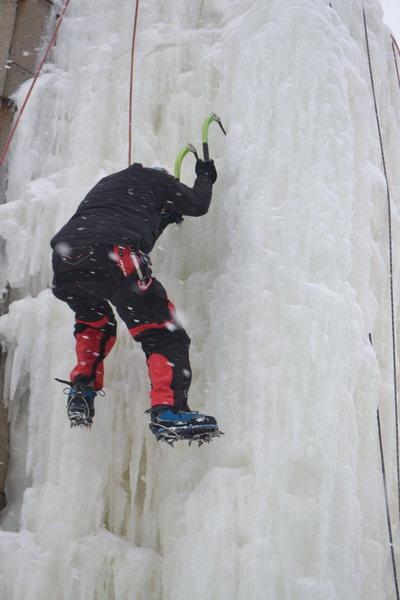 Rock Climbing Photo: Midwest Ice Climbing