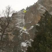 Rock Climbing Photo: Closer shot on approach.