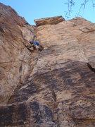 Rock Climbing Photo: Unknown 5.6 (February 2014)
