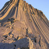 Sunset on Oneway sunset<br> <br> unknown climbers