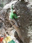 Rock Climbing Photo: Manual Buck !