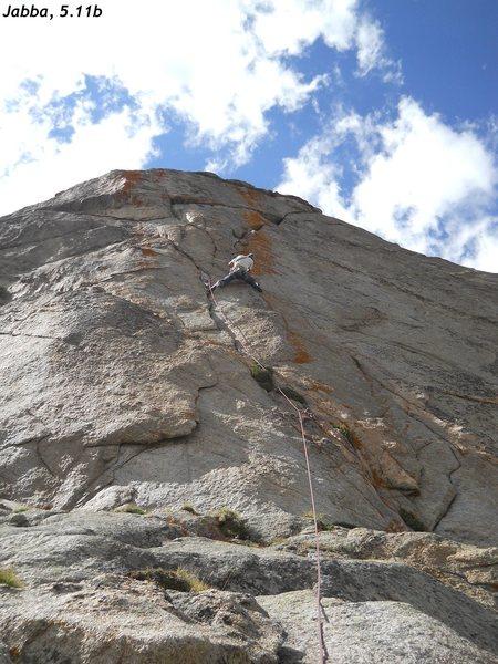 Rock Climbing Photo: Mike Cichon makes the long reach, 2013.