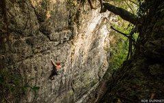 Rock Climbing Photo: James at Skyline