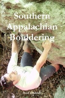 Cover of Southern Appalachian Bouldering by Brad Caldwell