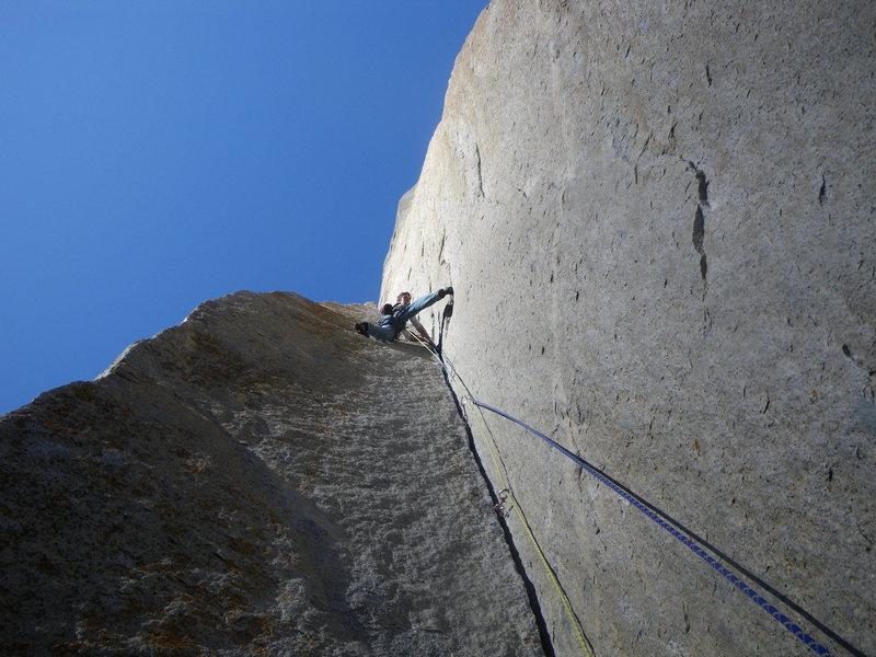 Rock Climbing Photo: Joe Cook on Astroman