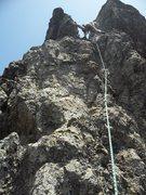 Rock Climbing Photo: Doppelganger start from belay