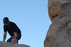 Rock Climbing Photo: my daughter and I